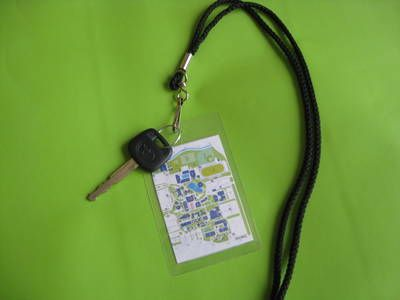 Tip for College Freshman: Make a small map to keep on your lanyard for the first couple weeks, while trying to find your way around campus. Very quick, only takes about 2 minutes, and oh so helpful for your first few weeks! I would need this...