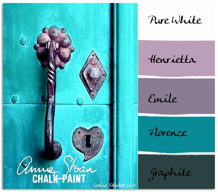 COLORWAYS Annie Sloan Chalk Paint Colors