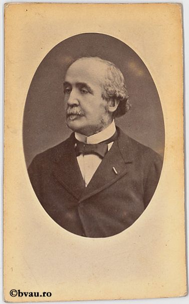 """Ducele de Broglie, Paris. Imagine din colecțiile Bibliotecii """"V.A. Urechia"""" Galați."""