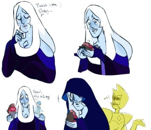 Imagen de blue diamond and steven universe