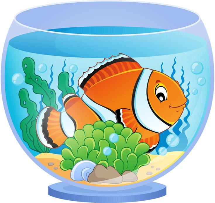 Картинки мультяшный аквариум