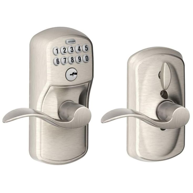Schlage fe595plyacc keypad door locks schlage door