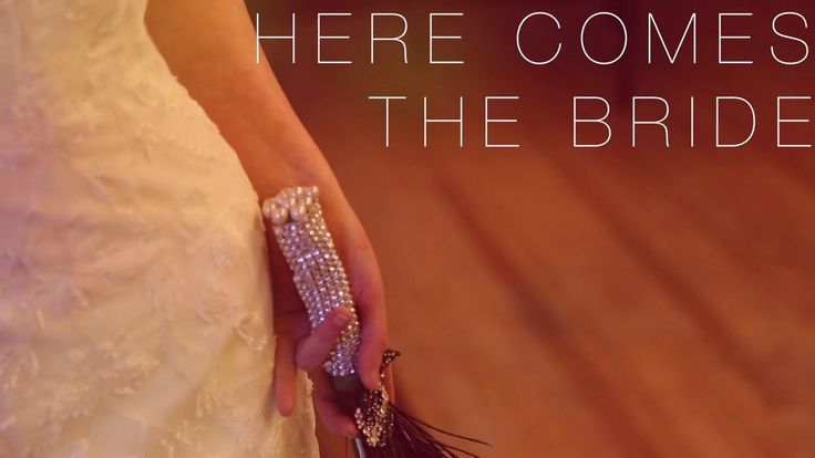 Here Comes The Bride. Venue: The Guest Keen Club Model: Miss Drazen ~ Jade Kinsey Stationery & printwork: Dragonfly Print - Special celebrat...