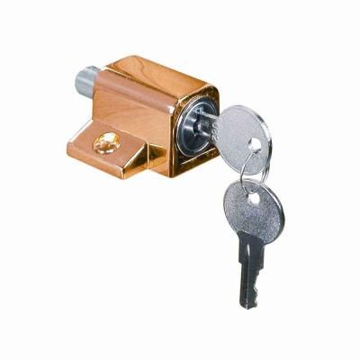 With a smooth look and heavy-duty die-cast bolt, the Defender Security Brass Keyed Wood Sash Window Lock is perfect for locking windows in closed or ventilating positions....Learn More