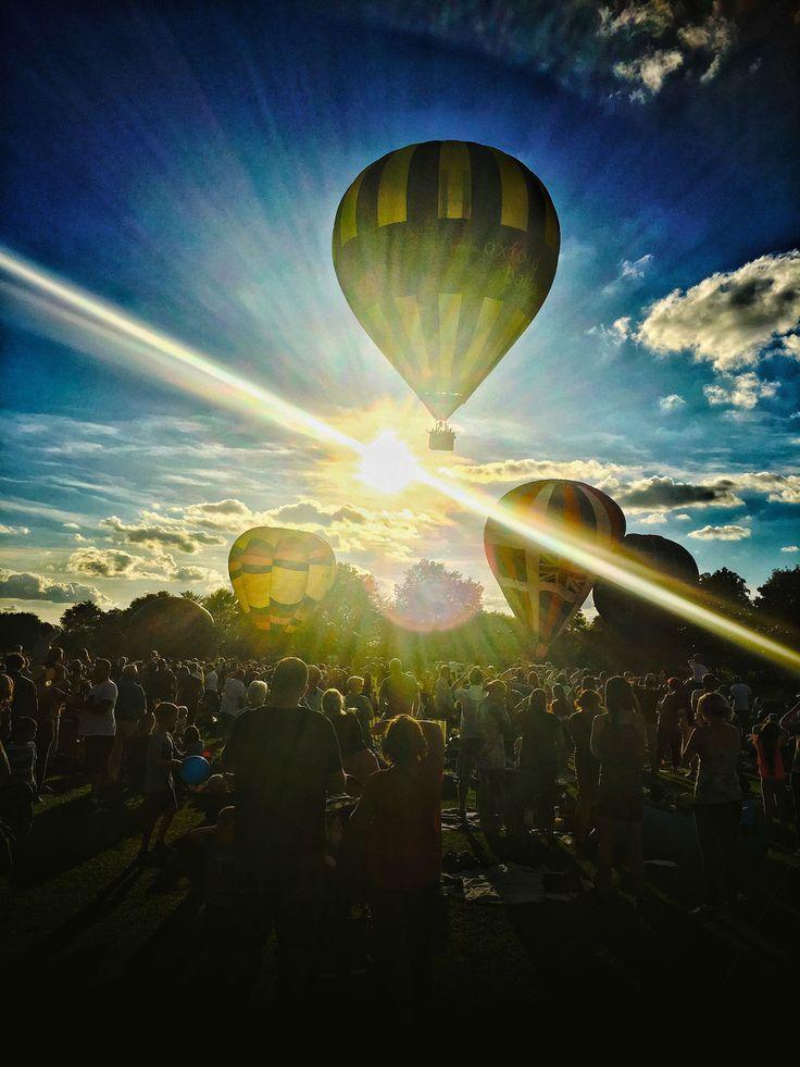 Balloon festival, Cholsey