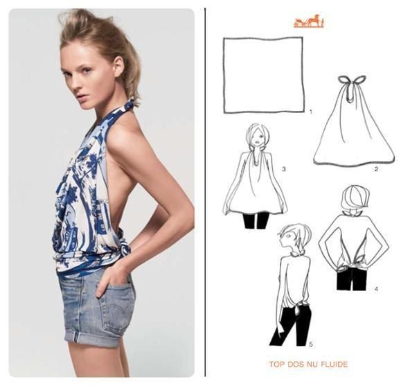 """Awesome 10 DIY Fashion Hacks , no 1 and 4 are really amazing """"turn a T-shirt into a dress!"""" - The Perfect DIY"""