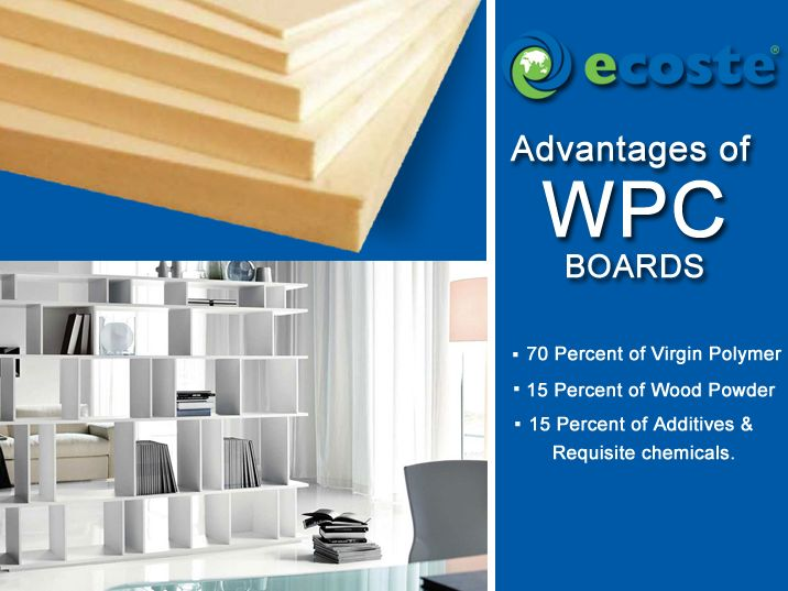 Designed with Passion, Ecoste ‪#‎WPC‬ Boards will give your ‪#‎Home‬ classic Look - http://www.ecoste.in/wpc-board/