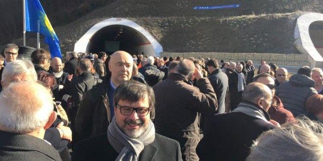 Inaugurato tratto Colfiorito-Serravalle, per Marini e Rometti, collaborazione vincente - Foligno Oggi - Notizie da Foligno, Trevi, Bevagna, Montefalco, Gualdo Cattaneo e Castel Ridaldi