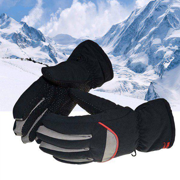 Sale 17% (7.99$) - Warm Ski Gloves Waterproof Cycling Gloves Winter Windproof Gloves