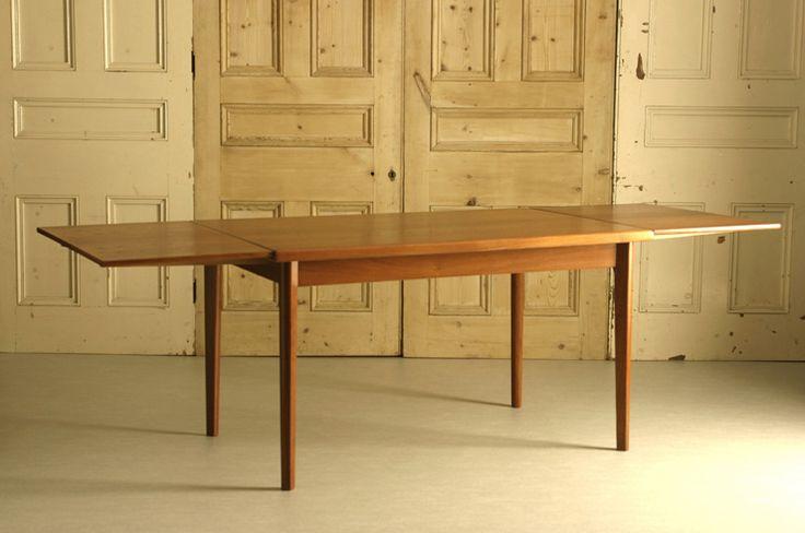 北欧中古家具 デンマーク ダイニングテーブル(エクステンション)