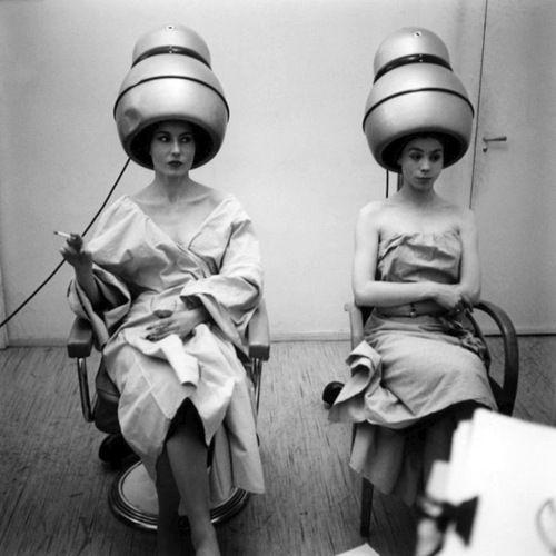 Ata Kando - Atelier Carita Alexandre, Paris, 1957. ☚