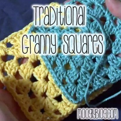 How to Make the Traditional Granny Square! Every crocheter should know this! Video tutorial and written instructions