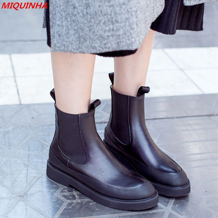 Fashion Soft Leather Boots Platform Rain Boots Patchwork Stretch Women Boots Flat Cool Star Fall Winter Boots Ladies Shoes Woman