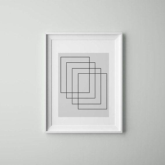 Arte astratta, scandinavo minimalista, scandinavo stampa, Tumblr, stampe d'arte, arte scandinava, scandinavo stampe, stampe Tumblr