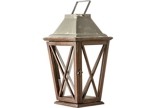 picture of Edwin Brown Lantern from Decorative Items Furniture