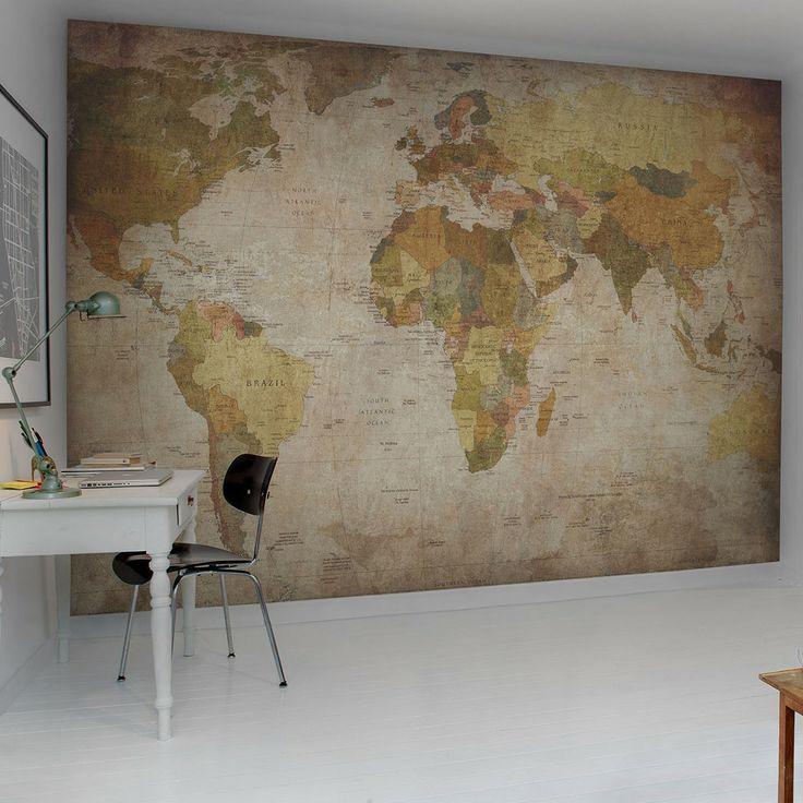 Rebel Walls- World Map - Brands