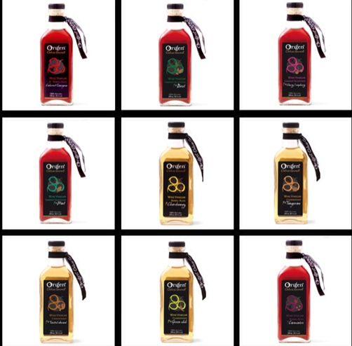 Origen Premium Wine Vinegars!   100% natural and barrel aged