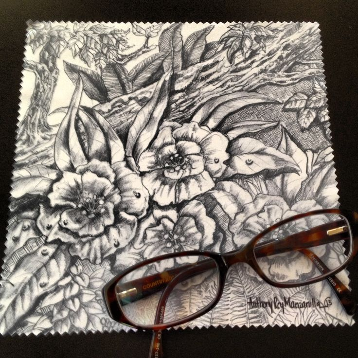 Pencil drawing on a Lens Cleaning/ Microfibre Glass Cleaning Cloth  http://jennoliart.com.au/promotional-products/microfiber-glass-cleaning-cloths/