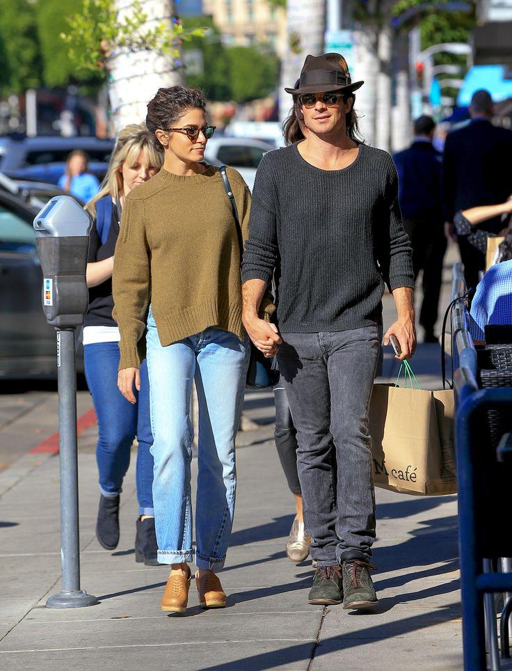 Ian Somerhalder and Nikki Reed Sweet Outing in LA - November 21, 2016