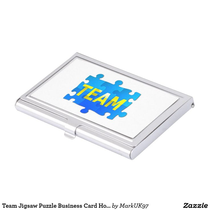 Team Jigsaw Puzzle Business Card Holder #S6GTP #zazzle