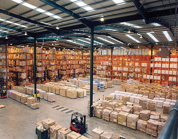 Así Será El Almacén De Materiales De Construcción 4 0 Apliqa Materiales De Construccion Edificios Industriales Almacen