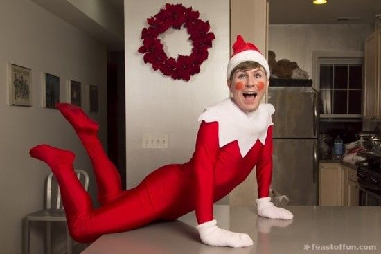 Tommy Holl Spreads Holiday Cheer As The Real Elf On The
