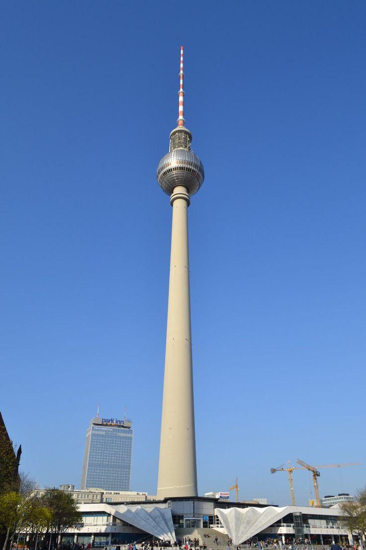 Tower - Berliner Fernsehturm in Berlin, Germany is 1207.45 ...