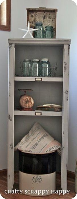 Chalk Paint Bookshelf with