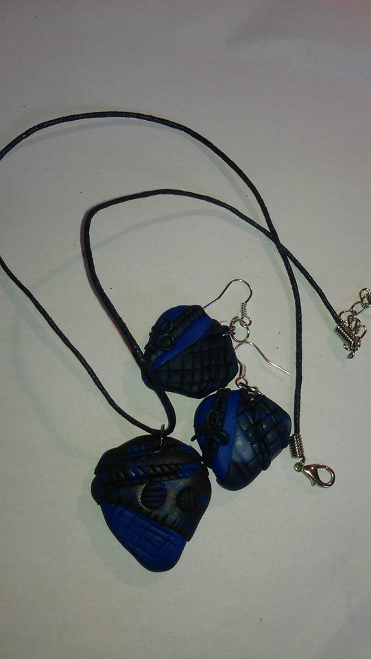 Jewellery clay.. :)