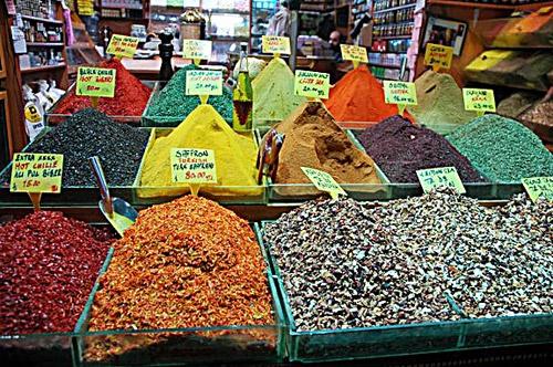 Spices, Grand Bazaar, Istanbul