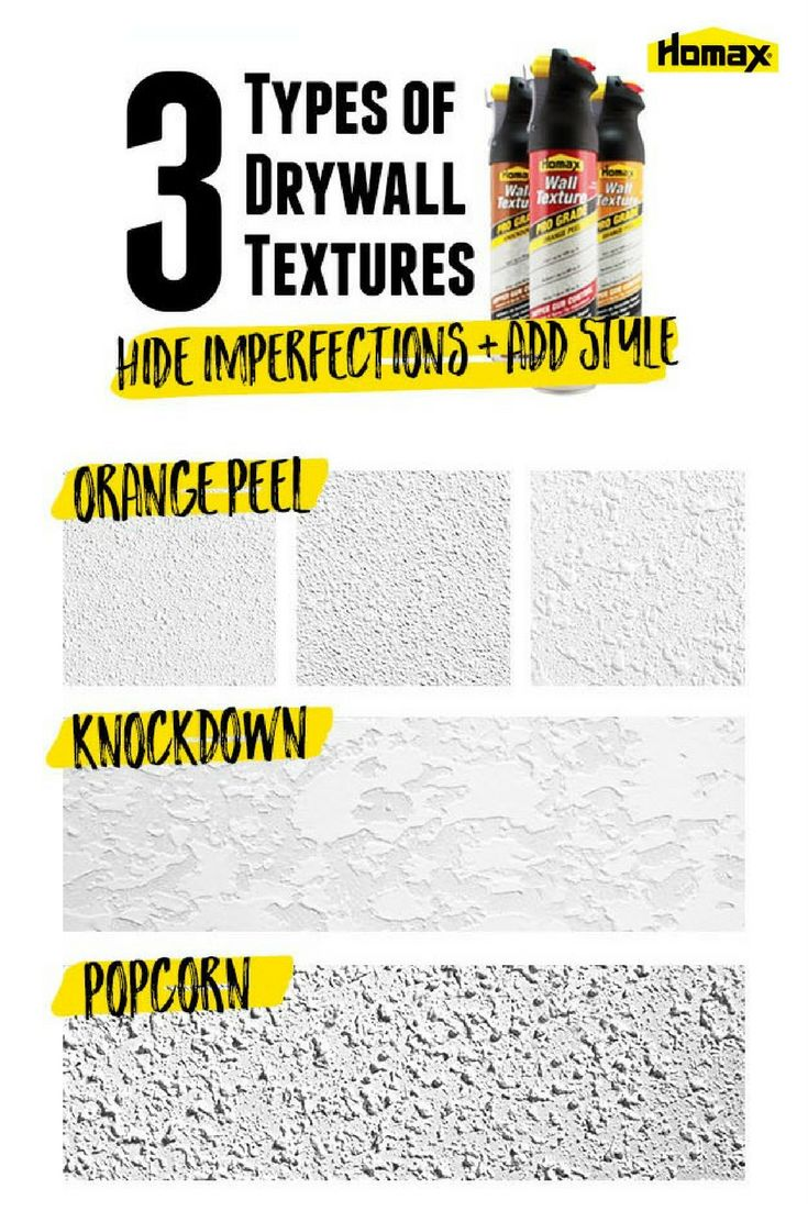 Wall and ceiling textures like popcorn ceiling texture, orange peel texture and knockdown ceiling texture can add a unique look and ascetic style to your home. Plus, with Homax wall and ceiling textures you can tackle your DIY home improvement projects like repairing a ceiling, or concealing minor surface defects in walls and ceilings. Click to learn tips and tricks from Homax® to help make tough home improvement tasks and repairs easier.