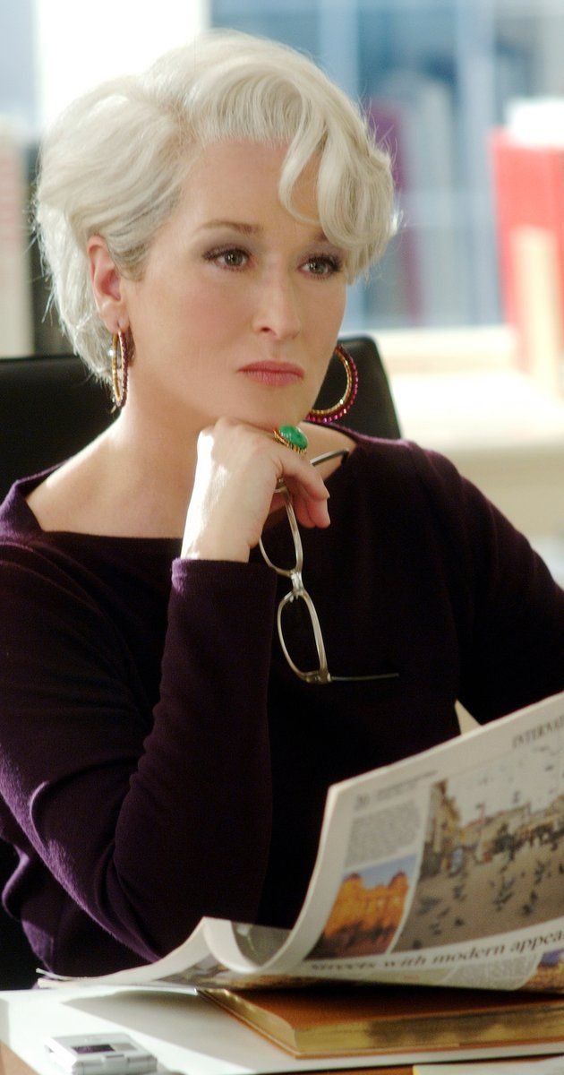 Meryl Streep In The Devil wears Prada, 2006                                                                                                                                                                                 More