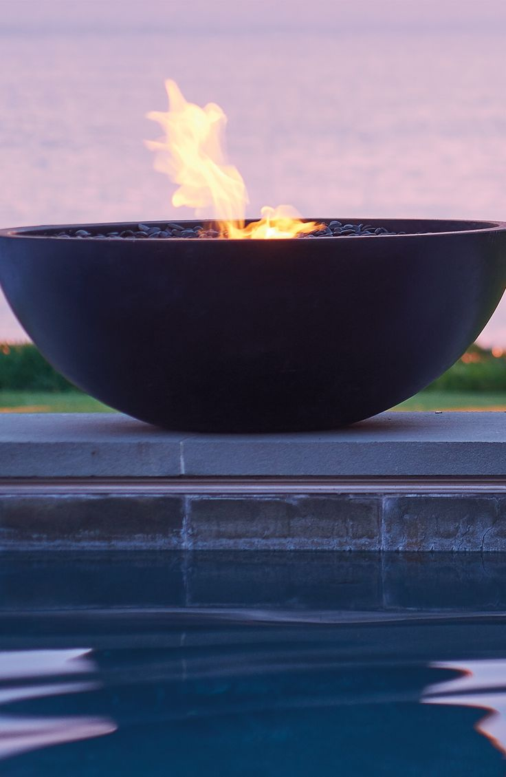 Add instant ambience and warmth to indoor or outdoor spaces with Mix Fire Bowls…