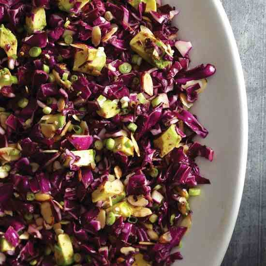 Five Spice Red Cabbage Salad Recipe