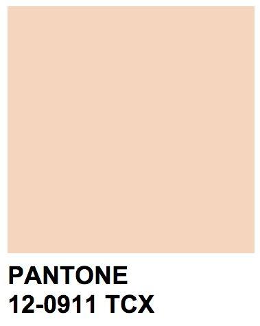 Pantone 12-0911 TCX Nude