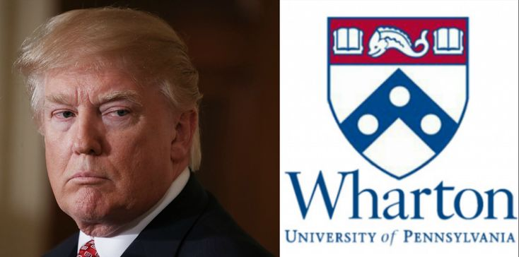 """The Wharton School of Business delivered a major blow to his hopes for """"tax reform"""" (i.e., more money for the already bloated 1%.)"""