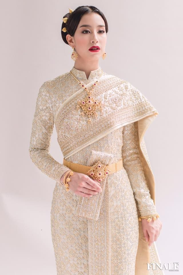 226 best images about thai wedding dress on pinterest for Thai style wedding dress