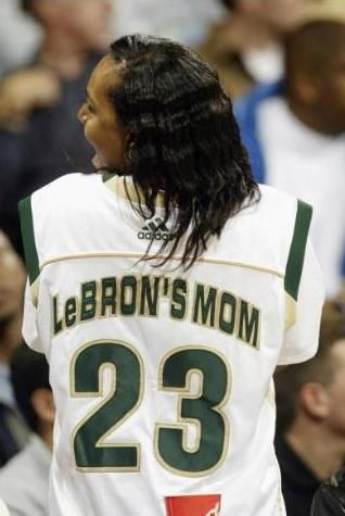 lebron james mother | Lebron James mother Gloria James - Bitten and Bound
