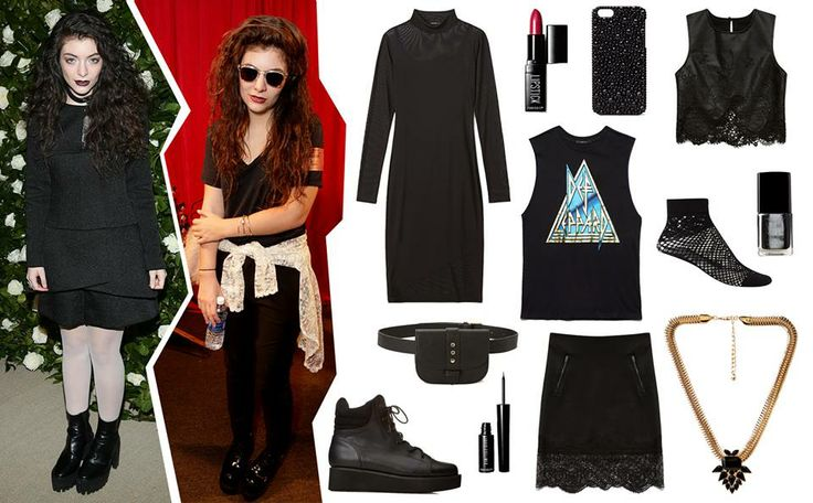 #GetTheLook: Achieve Lorde's dark princess look with our #F21Capsule collection
