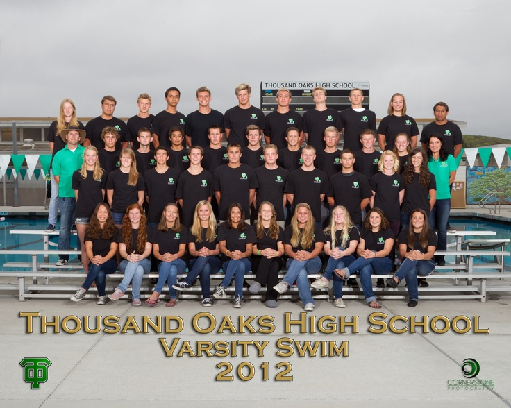 Thousand oaks high school athletics swim team picture poses for swimmers pinterest for Eastwood high school swimming pool