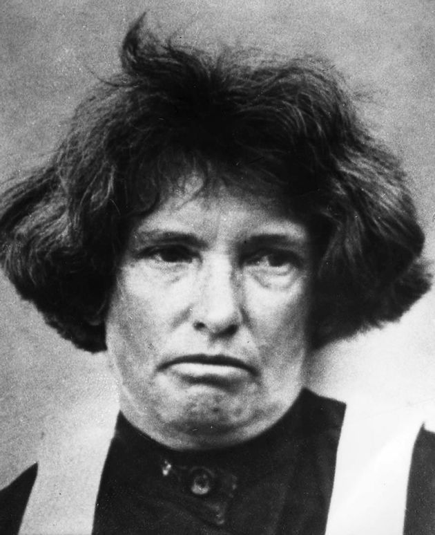 An authentic picture of the culprit of three murders, who's name was Daisy de Milker. She was a qualified nurse. It can be noted that causes of murders she had committed were as the result of her greedy and desire to inherit what her victims had. Her detrimental acts earned her a status, which is a serial-killer.