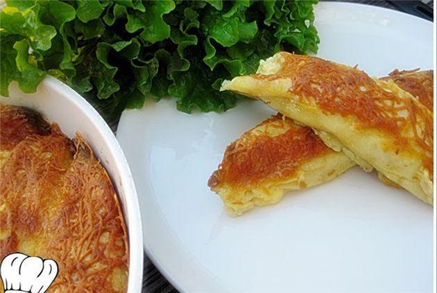 Κρέπες φούρνου με γεύση πίτσας!!! - Filenades.gr
