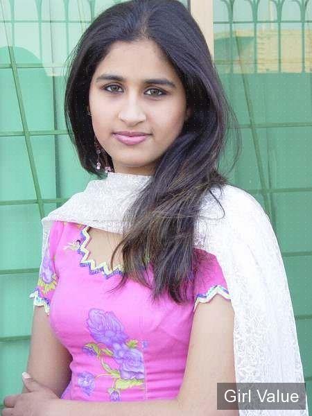 "{""token"":""2249""} - Indian college girl in pink salwar kameez dress"