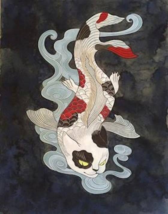 金魚貓 Goldfish Cat 石黑亞矢子