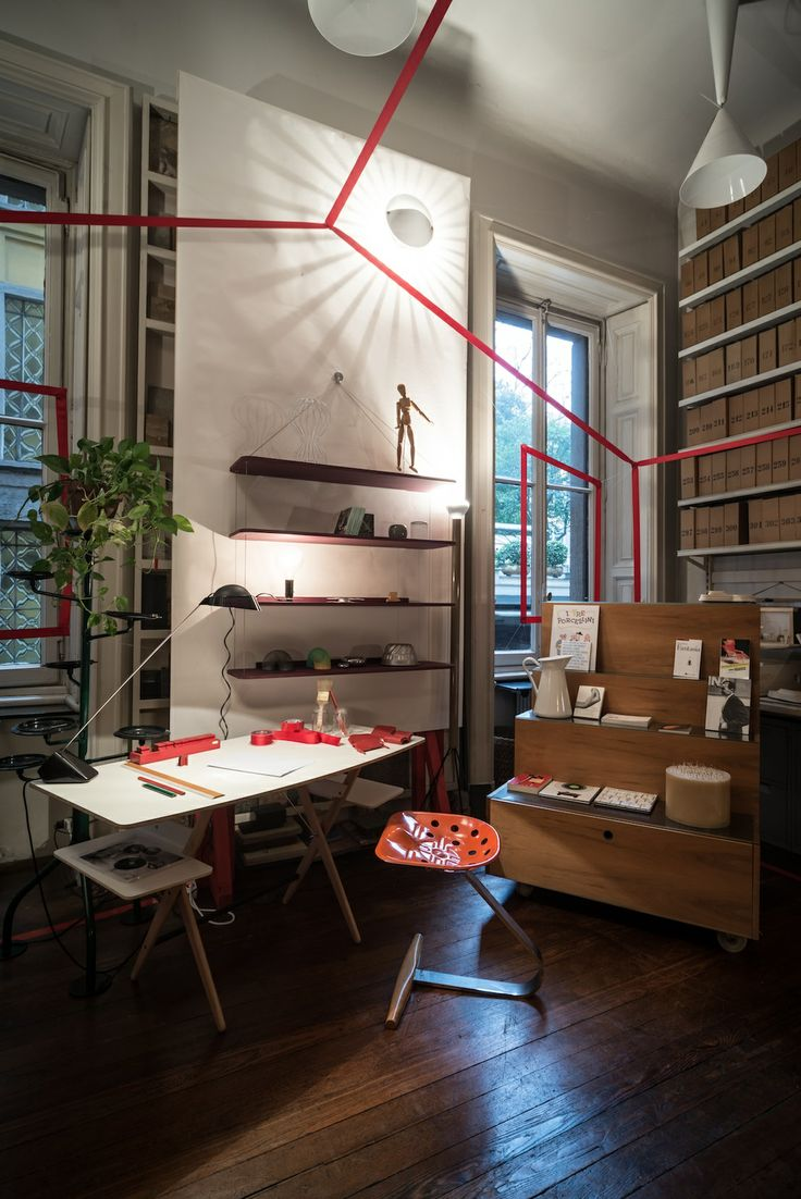 Spot the Famed Achille Castiglioni Pieces in His Milan Studio
