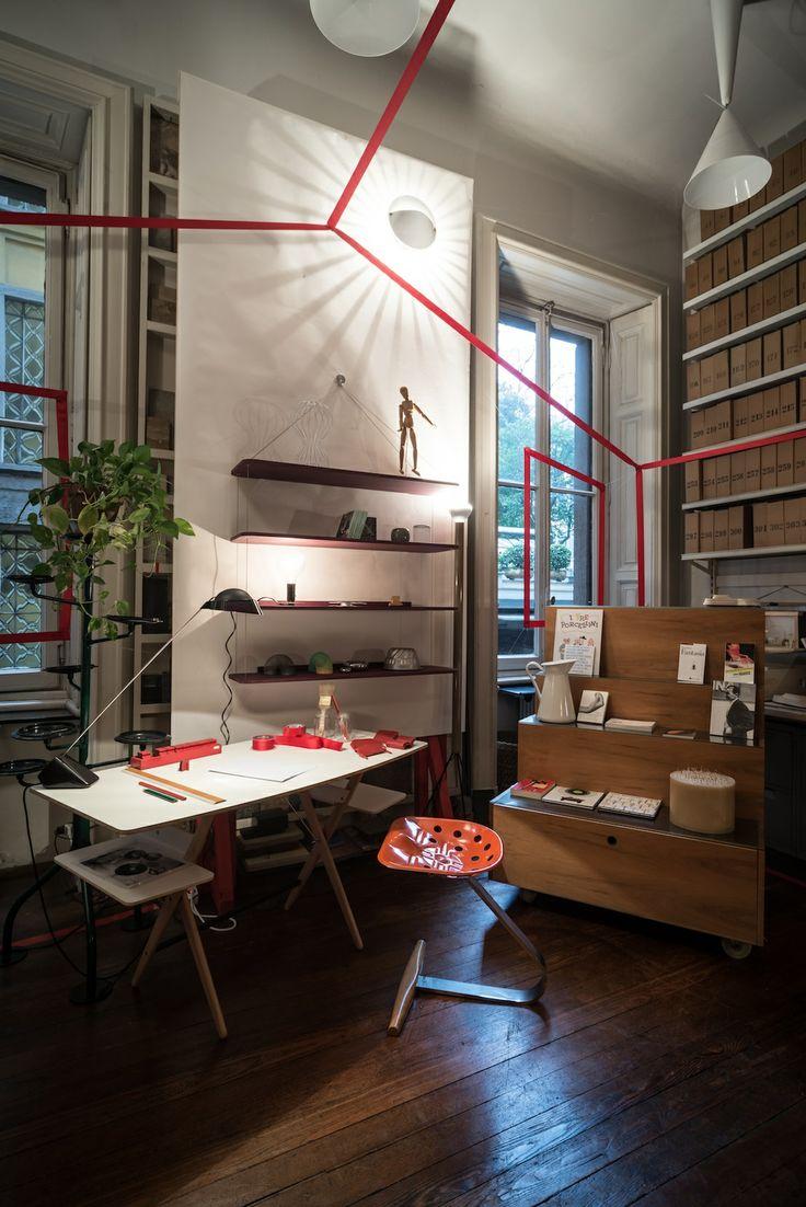 Spot the Famed Achille Castiglioni Pieces in His Milan Studio
