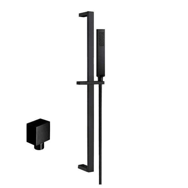 STONEART Armatur Handbrause-Set 870898-2 schwarz matt