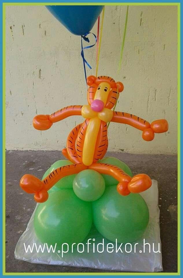#Pooh #tiger #happybirthday #balloon