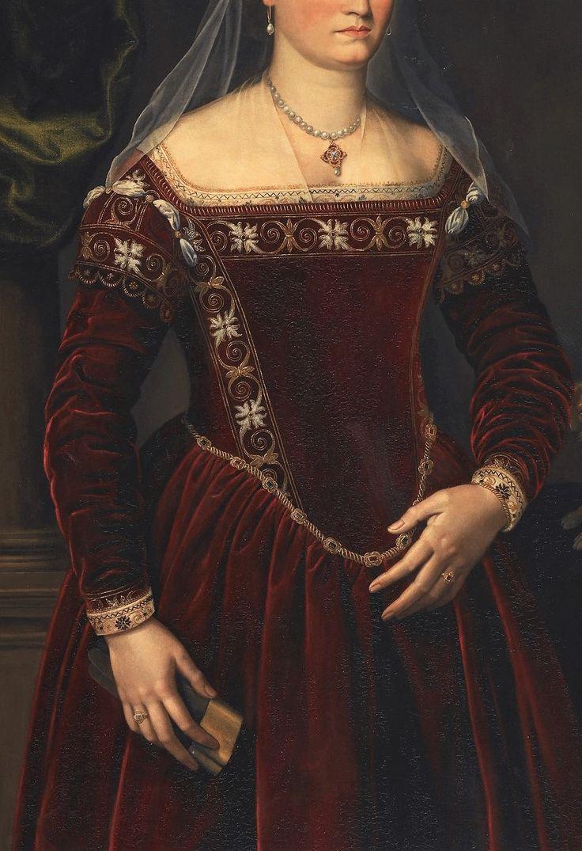 Lady Tuscan by Jacopo Zucchi,1560