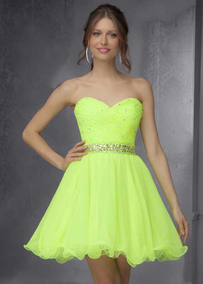 Best 25  Neon homecoming dresses ideas on Pinterest | Pretty ...